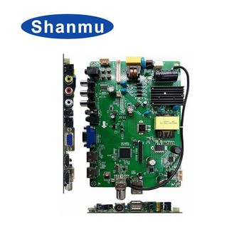 universal main pcb board motherboard led smart tv main board for led tv