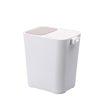 Household Kitchen Wall-mounted Recycling Plastic Trash Bin