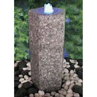 Gardening Stone Water Features with LED