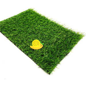 inred 20mm high quality grass synthetic turf mat artificial grass tiles