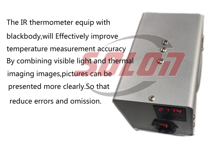 Infrared imager temperature measu