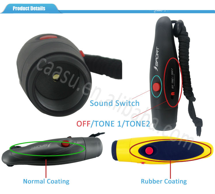 125db Big Sound Hand Button Electronic Whistle