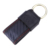 Promotional item gift set for keychain and leather wallet