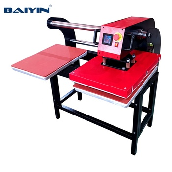 15*15 16 *20 Up-Slided type Pneumatic Double stations Heat Press Machine