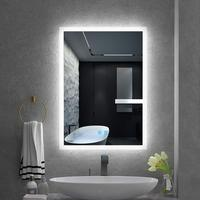 ETL Listed Frameless Decorative Bathroom Makeup backlit LED Mirror