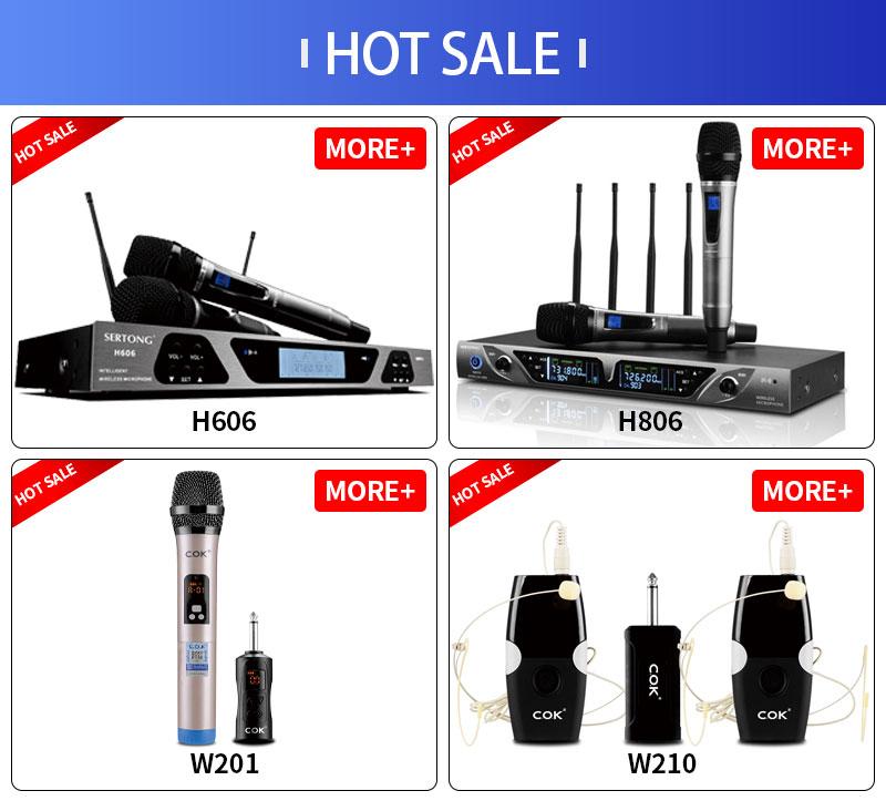 Di alta Qualità Senza Fili Professionale Della Fase KTV Microfono