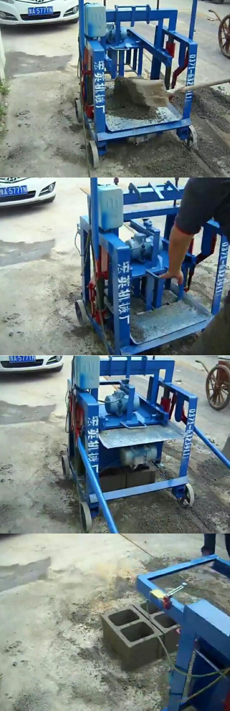 QMY2-40 Cina Pemasok Industri Kecil Manual Ponsel Lapisan Telur Hollow Mesin