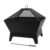 square steel wood fire pits outdoor heater for garden use