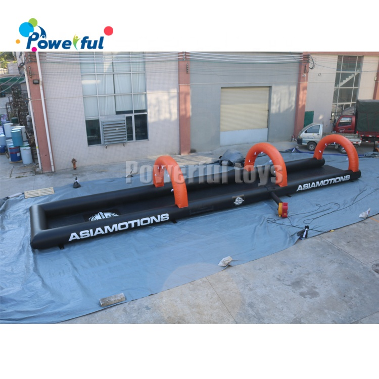 Small inflatable slip n slide inflatable water park slide the city for kids and adults