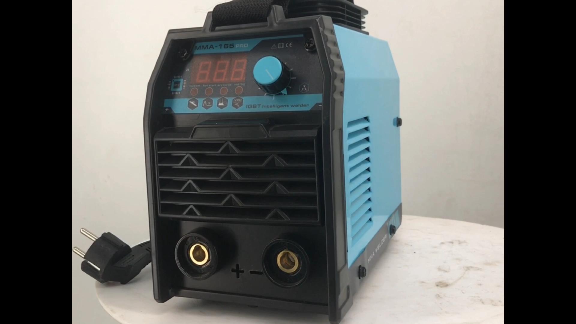 110v 220v dual volt arc welding inverter mma welder with lift tig function