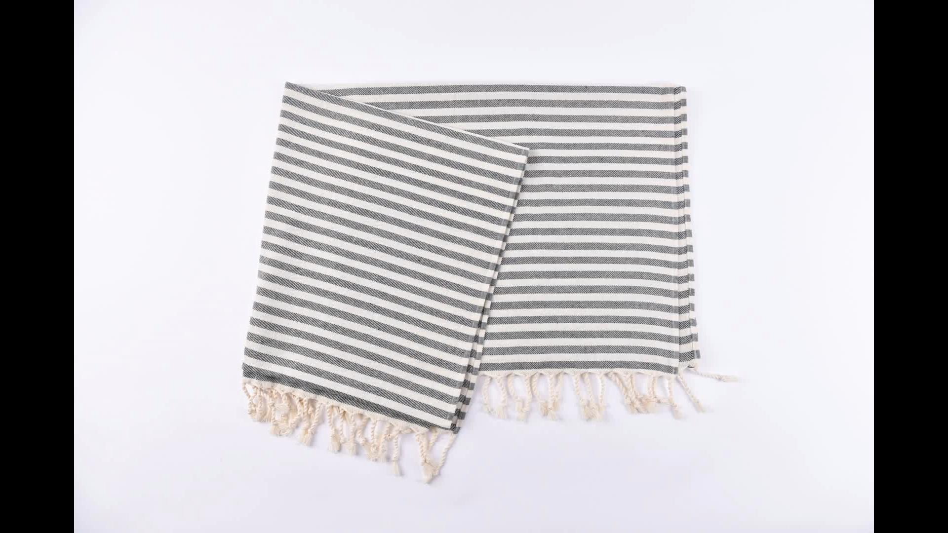 Hammam Telo Mare Asciugamano di Cotone In Cotone Turco Spiaggia Per Adulti Asciugamano Personalizzato