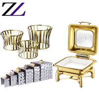 Hotel & Restaurant Supplies other food & beverage home use gn 1/2 tray chaffing dish buffet food warmer with buffet pans