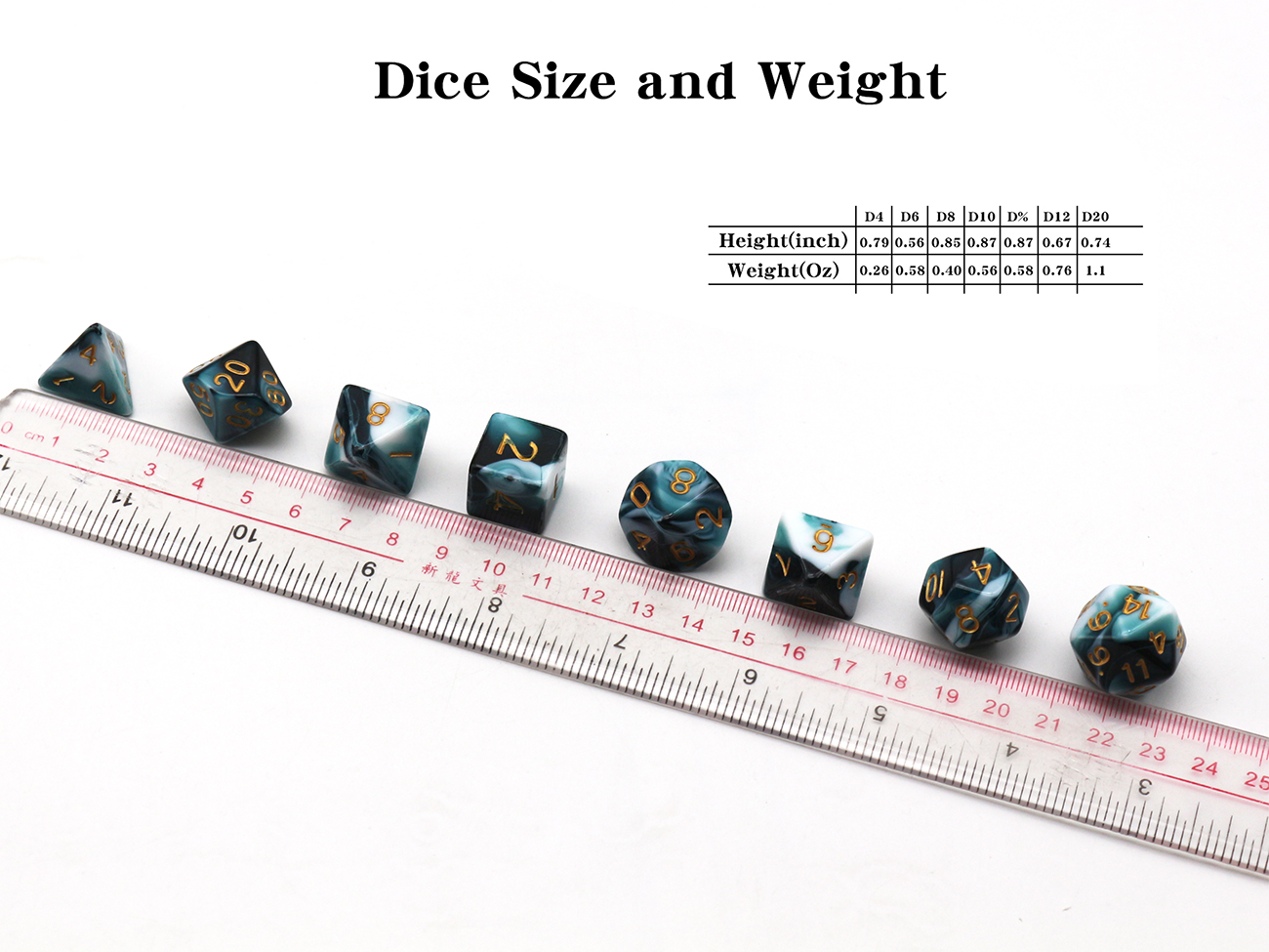 2019 Hot koop kwaliteit souvenir dice set custom dobbelstenen en board game accessoire