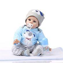 55 см Силиконовая Кукла Reborn lol, чудесные реалистичные куклы новорожденных, модная Кукла, рождественский подарок, подарок на Новый год, реквиз...(Китай)