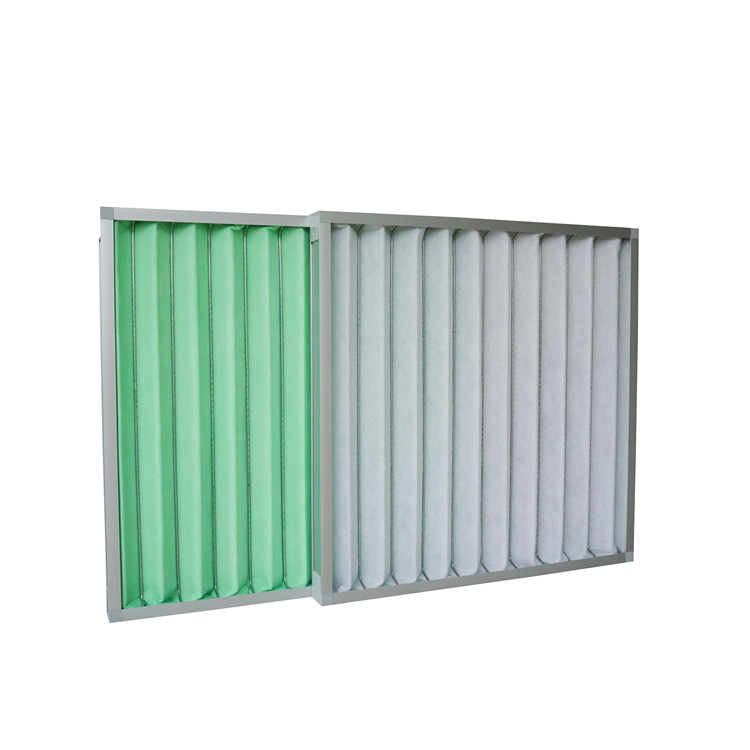 G3,G4 Panel pleated pre  air filter with synthetic fiber  12*24*2