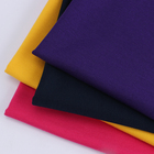 Color Terry Cloth Colorsterry Sweater Fabric W004-7 High Quality Twilled Knitting Fresh Soild Color Terry Cloth Fabric For Sweater