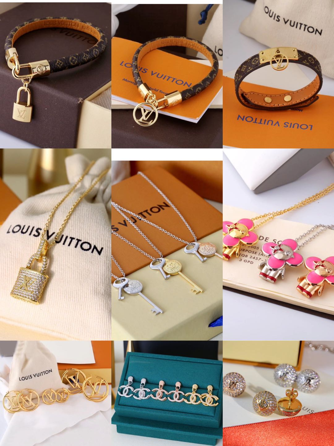 Wholesale Fashion Zircon Charm 316L Stainless Steel Women Jewelry Set