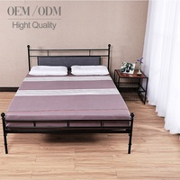 New Design Customize Home Furniture Of Steel Bed Frame Metal