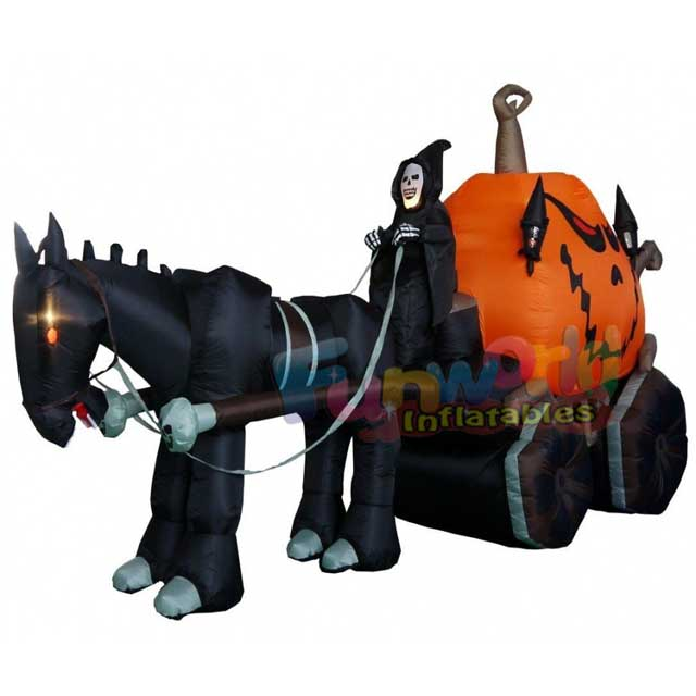 Halloween inflatable pumpkin model wholesale advertising inflatable models
