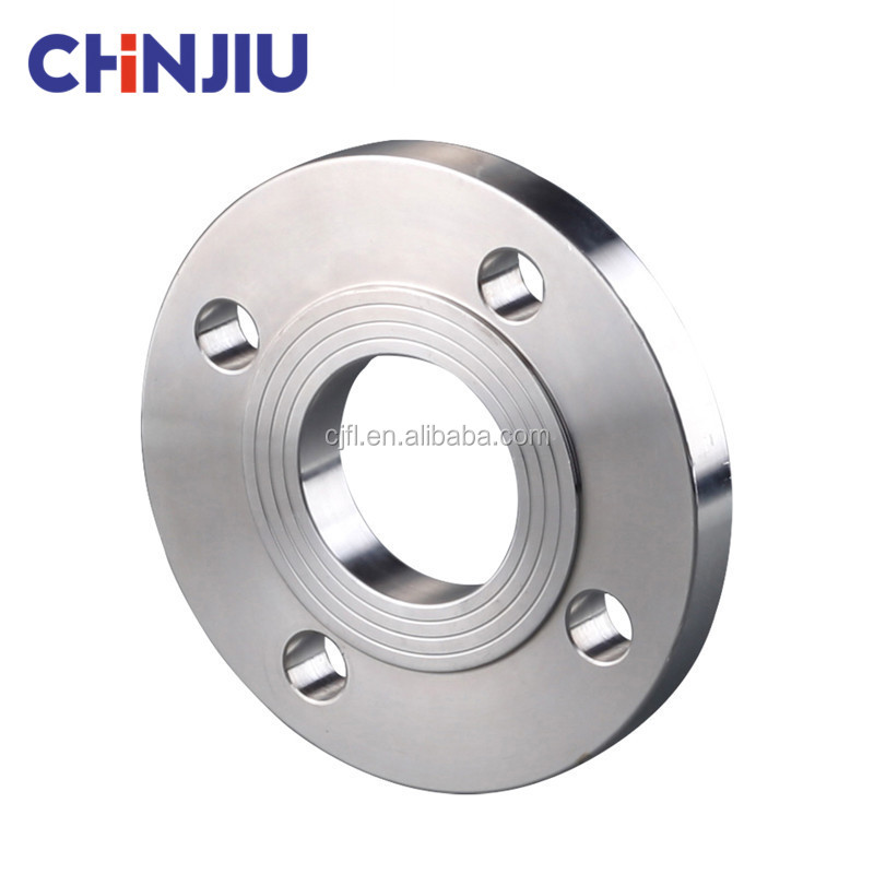 Chinjiu GOST 12820-80 PN10 16 Stainless Steel 30408 201 A182 Ti Datar Flange/Piring RF Ss316 Flange