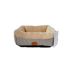 wholesale hot sale coral velvet warm soft comfort luxury cute dog bed