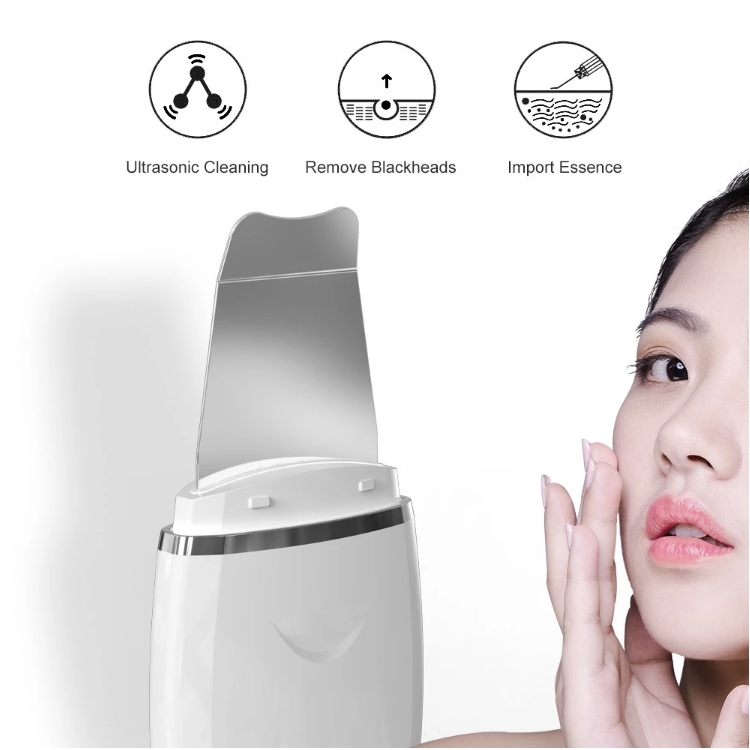 High Grade Beauty Machine Ultrasonic Beauty Equipment Skin Scrubber Deep Cleansing Sonic Peeler Skin Scrubber