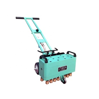Pneumatic bush hammer for texturize stone and concrete
