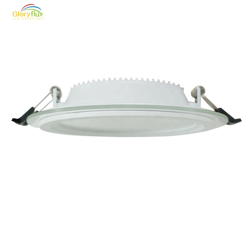 Factory Dispatch Low Price Indoor Glass Panel Open Hole 3 inch 6W Recess Led Down  Light