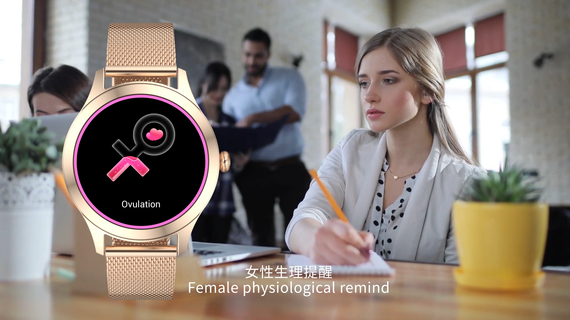 2020 Full Round Touch Screen Heart Rate Compatible Android iOS Lady Smartwatch KW10 Pro with English Czech Polish Multi Language