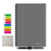 Умный многоразовый кожаный блокнот NEWYES A5, стираемый бумажный блокнот, дневник, офисный, школьный, подарок для рисования, 2019(Китай)
