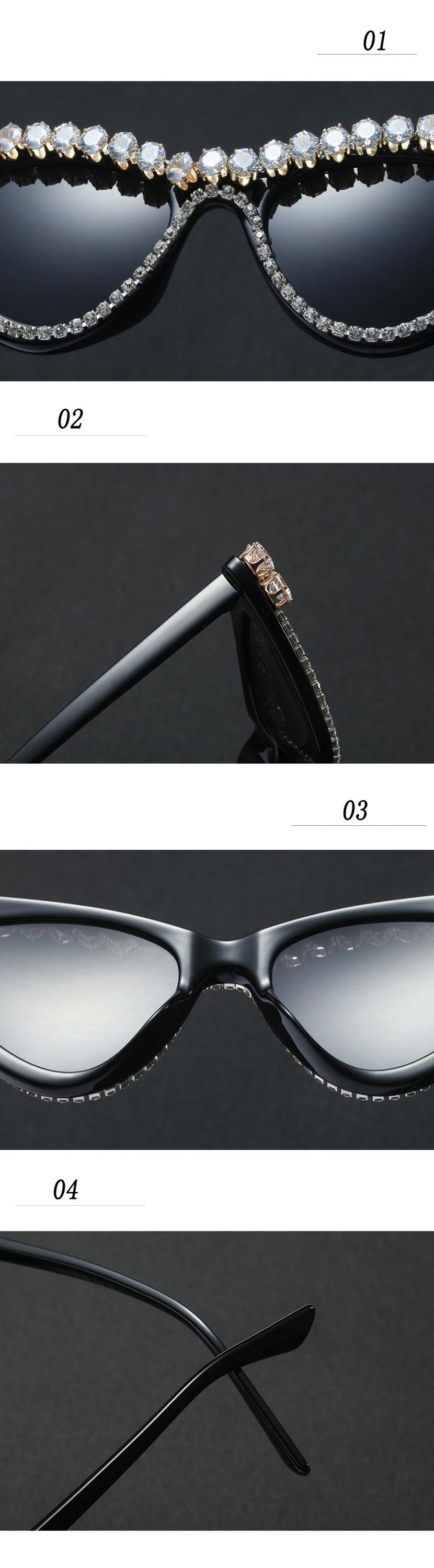 Fuqian women round sunglasses women Suppliers for women-7