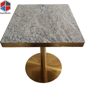 Viscont white granite surface tables