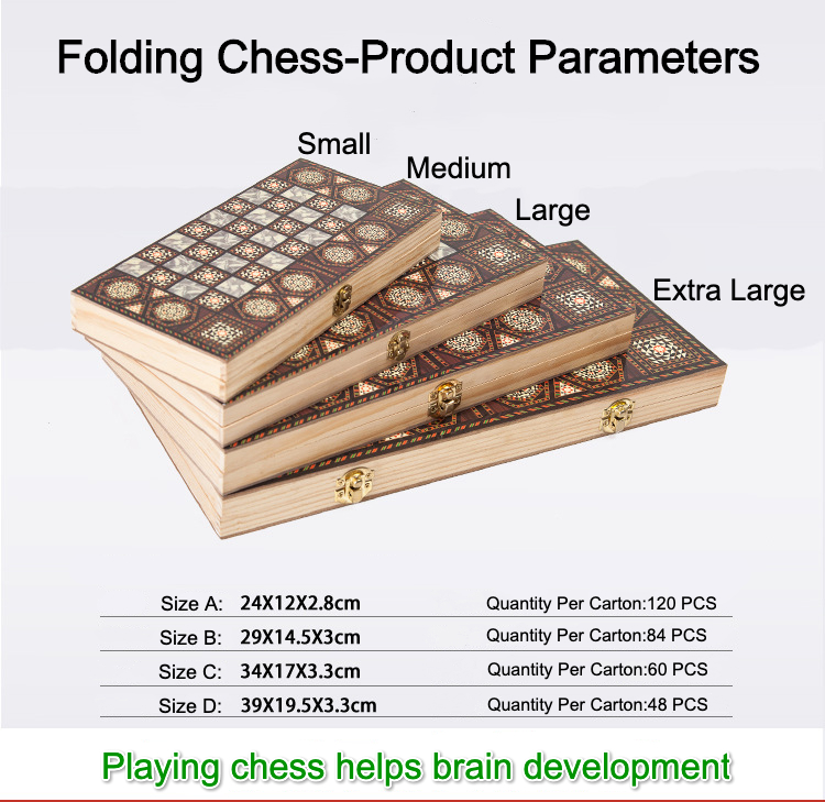 High Quality Classic Educational Learning Chess Board Game Toy Chess