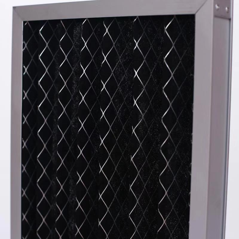 Aluminum Frame Folding Activated Carbon Bboard Type Air Filter G4 Board Type Air Filter