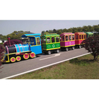 2020 New design tourist attraction mini road trackless train ride