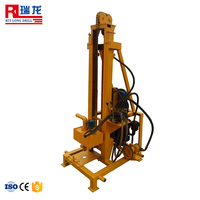Home use 100m depth Mini electric portable water well drilling rig/drilling machine for water