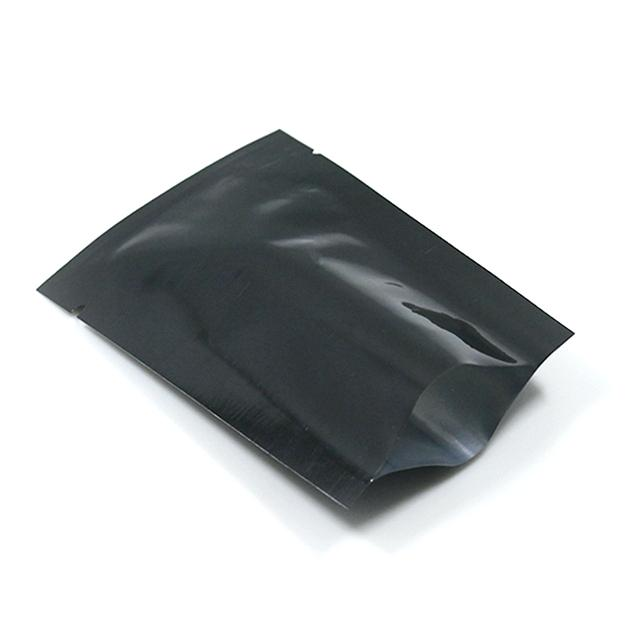 Matte Open Top Mylar Commercial Grade Nylon Embossed Seal vacuum sealer bags black