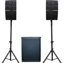 Home audio pa systeem speaker line array systeem