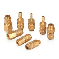 Brass pneumatic fittings quick connect coupling
