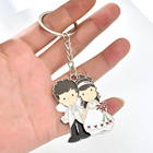 Wedding and Valentine's Day promotional gifts couple keychain wedding souvenirs guests