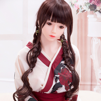 Japanese Young Sex Doll B Cup 29KG Wear Kimono Sex Toy Pour Homme Doll Sex Silicone for Men