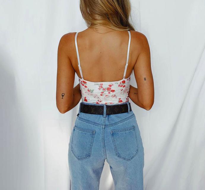 2020 ärmelloses Sommer Sexy Body Frauen Off Schulter Weiß Grundlegende Körper Top Casual Streetwear Bodys