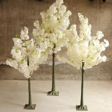 1.5 <span class=keywords><strong>m</strong></span> di nozze centrotavola albero artificiale bianco cherry blossom tree