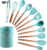 Top Seller Silicone Stainless Steel Kitchen Utensil Sets Cooking Tools