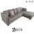 Classical Living Room Furniture Fabric Corner Sectional sofa