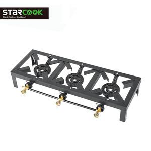 cheapest industrial gas stove gas cooker 3 burner burner cast iron