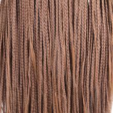 RONGDUOYI термостойкие волосы синтетический парик на кружеве длинный плетеный ящик косички парики для женщин пепельный блонд косплей парик на ...(Китай)