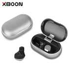 High Quality X26D True Wireless Mini Blue tooth Earphone In-Ear HeadphoneEarbuds with Mic metal Charging Case