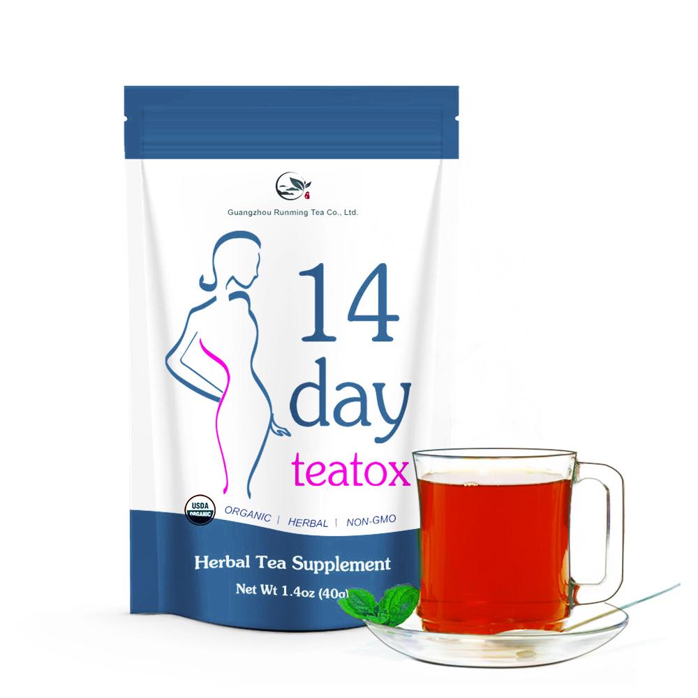 28 Days Detox Flat Tummy Oolong Herb Fruit Infused Mint Skinny Slimming Tea - 4uTea | 4uTea.com