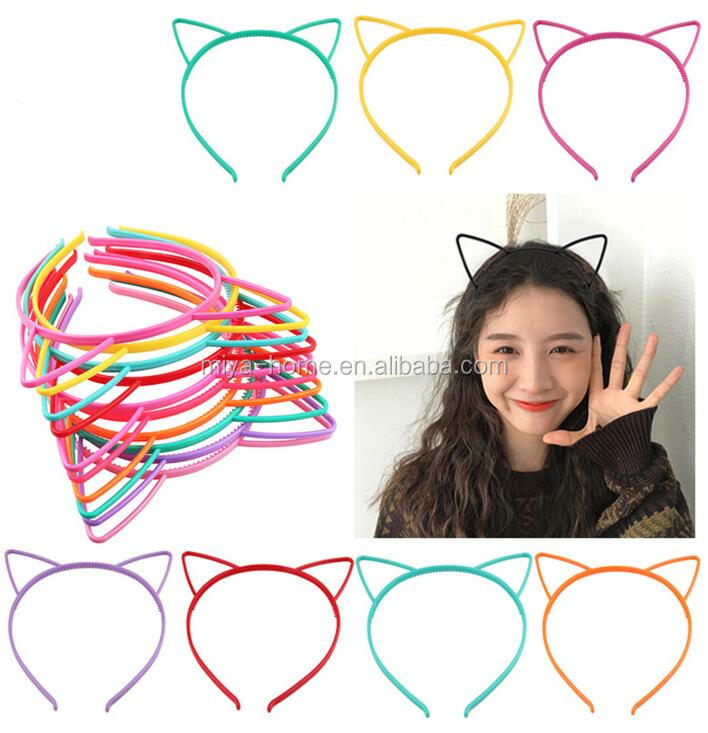 Wholesale children's hair accessories / cat ears headwear / hair clips jewelry